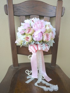 Wedding Bouquet (Artificial Flowers)
