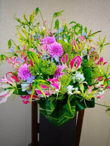 Fresh Arrangement (Pink)25